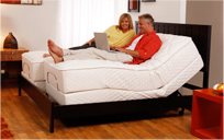 The Craftmatic<sup>&reg;</sup> Monaco Adjustable Bed.