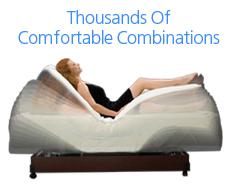 monaco adjustable bed | craftmatic® adjustable beds