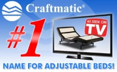 Craftmatic Electric adjustable double bed with massage ...  Craftmatic Bed Store Locations