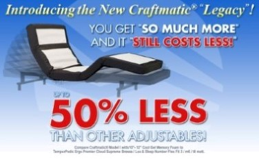 Craftmatic 174 Adjustable Beds Consumeraffairs Com Rated 1
